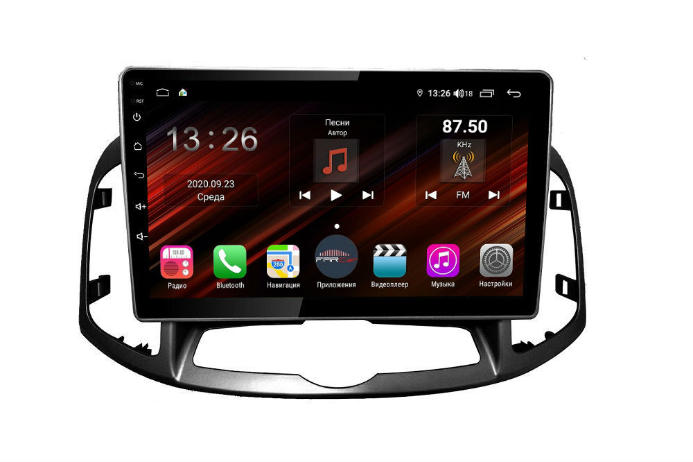 Штатная магнитола FarCar s400 Super HD для Chevrolet Captiva 2012+ на Android (XH109R) (+ Камера заднего вида в подарок!)