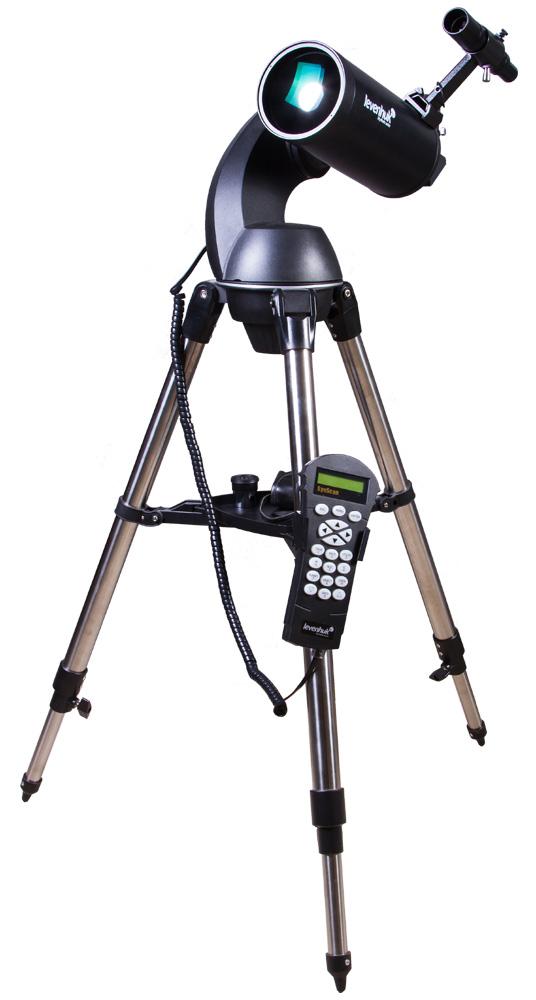 лучшая цена Телескоп с автонаведением Levenhuk SkyMatic 127 GT MAK