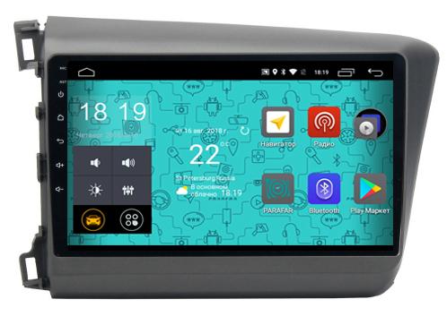 Штатная магнитола Parafar 4G/LTE с IPS матрицей для Honda Civic 2012-2016 на Android 7.1.1 (PF132) unlocked netger 4g 150mbps sierra wireless router aircard 770s 4g lte mobile wifi hotspot dongle 4g pocket wifi