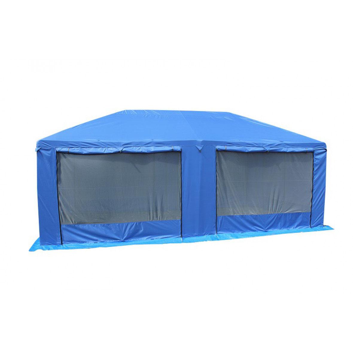 Шатер Митек Пикник 5.0х2.5 (каркас Люкс) синий