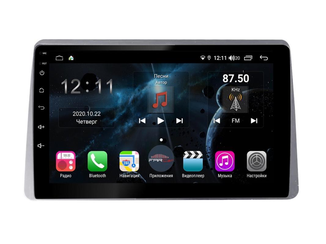 Штатная магнитола FarCar s400 для Renault Arcana на Android (H1219R) (+ Камера заднего вида в подарок!)