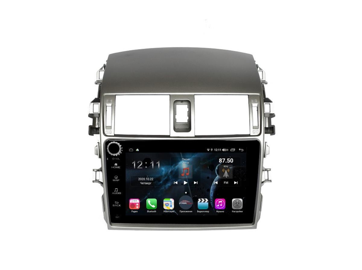 Штатная магнитола FarCar s400 для Toyota Corolla на Android (H063RB) (+ Камера заднего вида в подарок!)