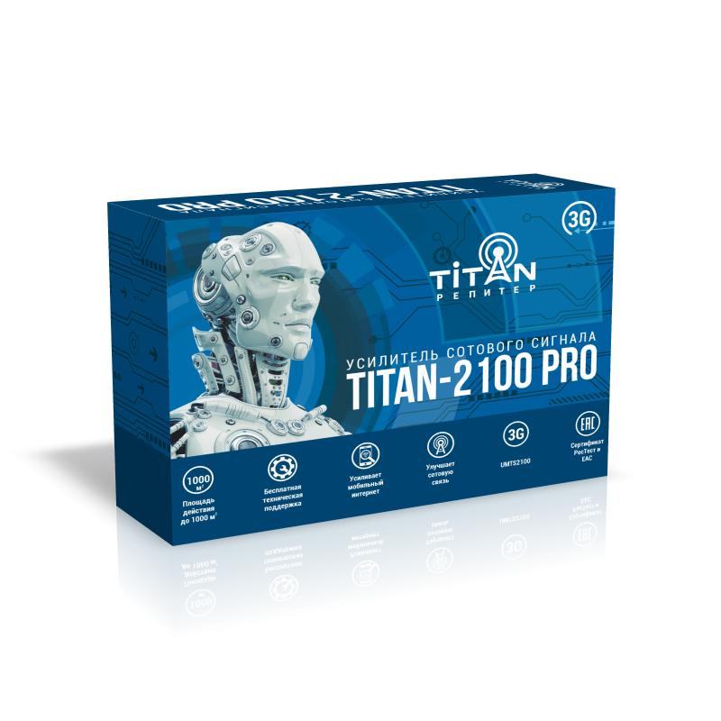 Усилитель сигнала сотовой связи (репитер) Titan-2100 PRO репитер titan 2100