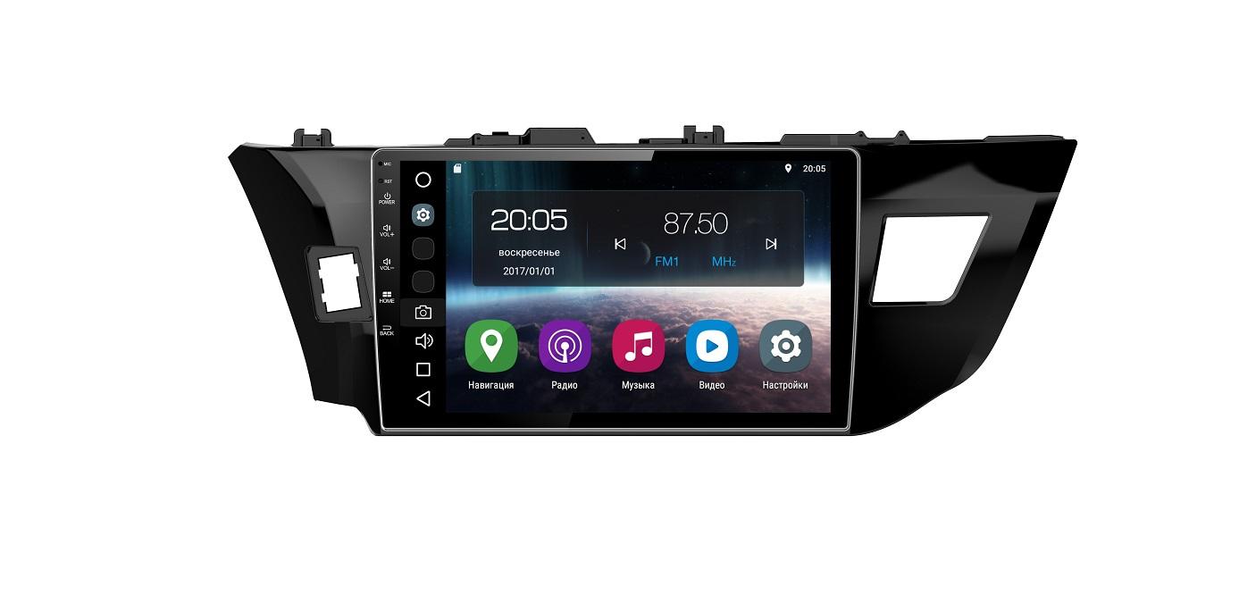 Штатная магнитола FarCar s200 для Toyota Corolla 2013-2016 на Android (V307R-DSP) автокресло cbx by cybex aura fix cobblestone 512107040 512107036