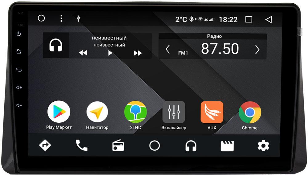 Штатная магнитола Mitsubishi Eclipse Cross 2017-2020 Wide Media CF1080-OM-4/64 на Android 9.1 (TS9, DSP, 4G SIM, 4/64GB) (+ Камера заднего вида в подарок!)