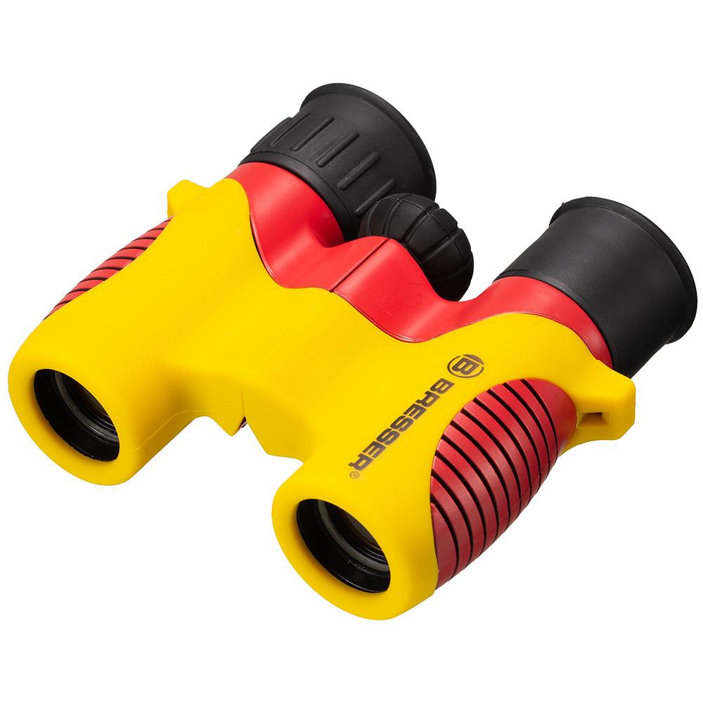 Фото - Бинокль детский Bresser Junior 6x21, желтый (+ Автомобильные коврики для впитывания влаги в подарок!) музыкальные книжки умка музыкальная книжка зоопарк в степанов