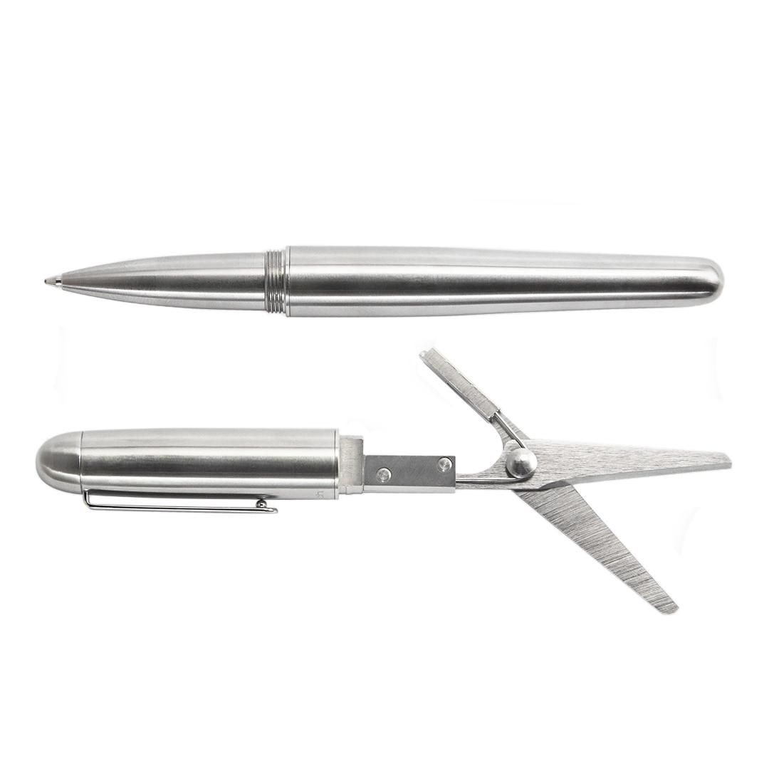 Мультитул Mininch Xcissor Pen стандарт Серебристый (+ Автомобильные коврики для впитывания влаги в подарок!)