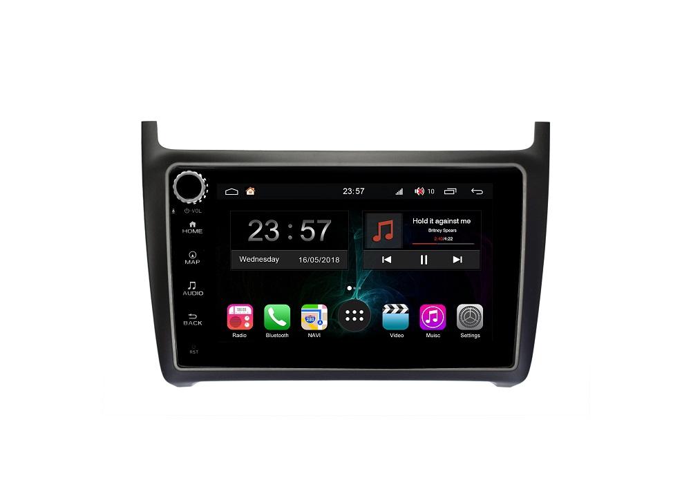 Штатная магнитола FarCar s300-SIM 4G для VW Polo на Android (RG910RB) (+ Камера заднего вида в подарок!)