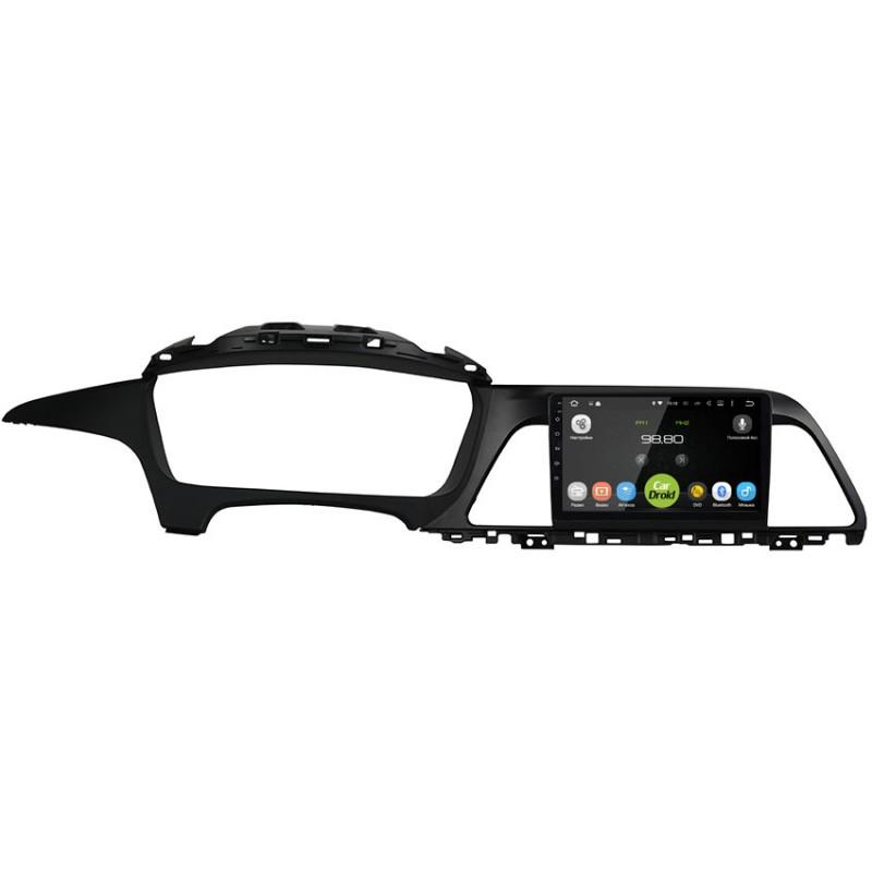 Штатная магнитола CarDroid RD-2028F для Hyundai Sonata 7 (2014-2017) (Android 9.0) DSP (+ Камера заднего вида в подарок!)