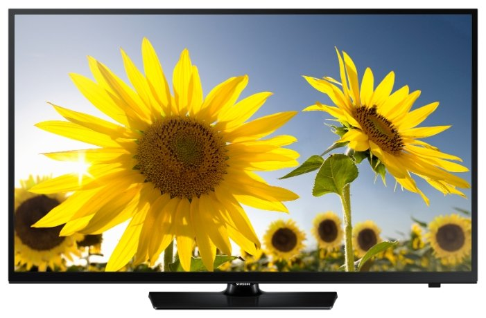 Samsung UE24H4070AUXRU черный/HD READY/100Hz/DVB-T2/DVB-C/DVB-S2/USB (RUS) изображение иисус христос селенит 6 см