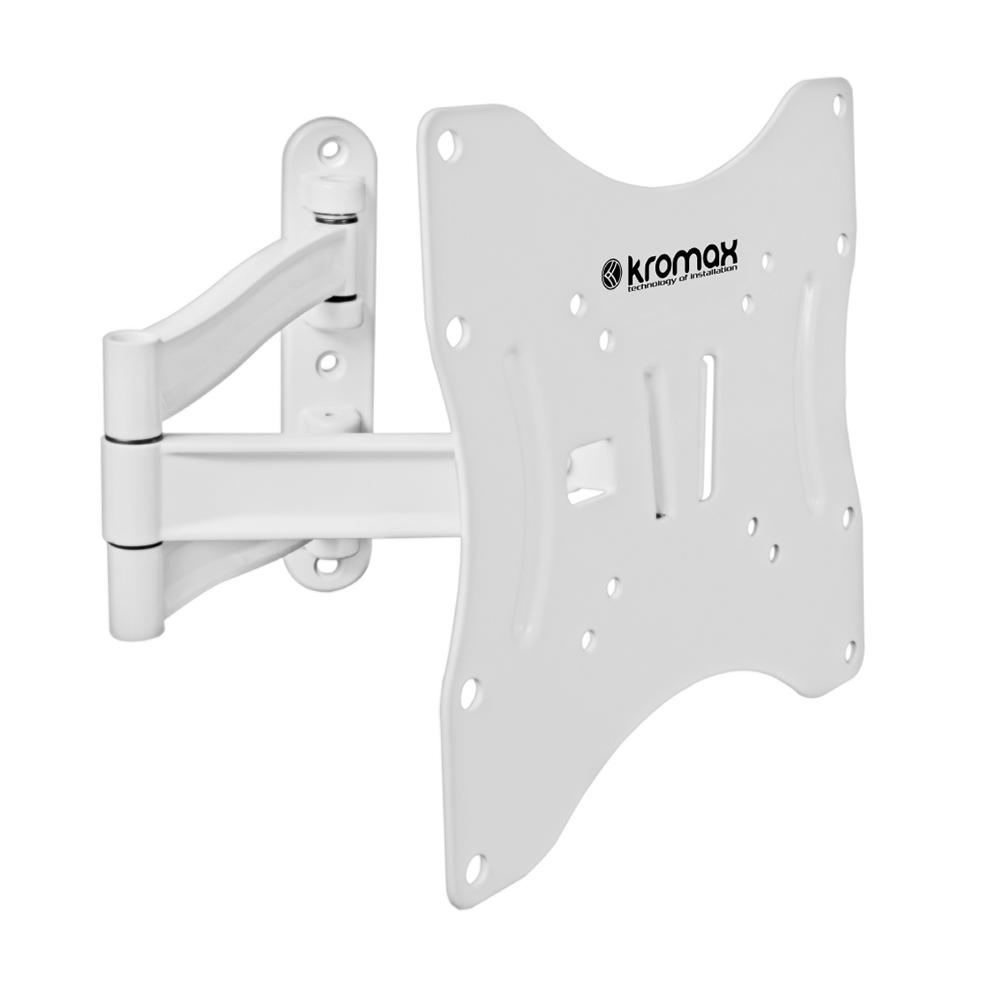 Кронштейн настенный для LED/LCD телевизоров KROMAX TECHNO-3 WHITE.