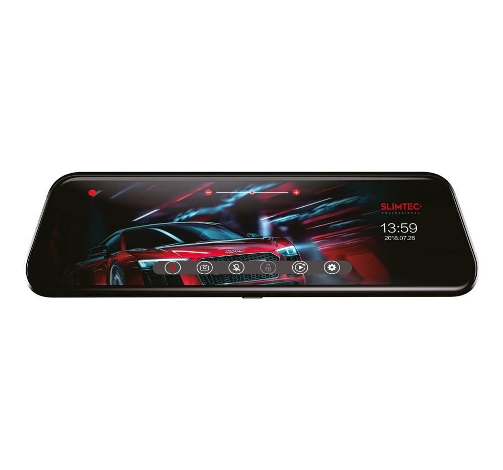 Фото - Зеркало-видеорегистратор Slimtec Dual M9 видеорегистратор зеркало slimtec dual m7