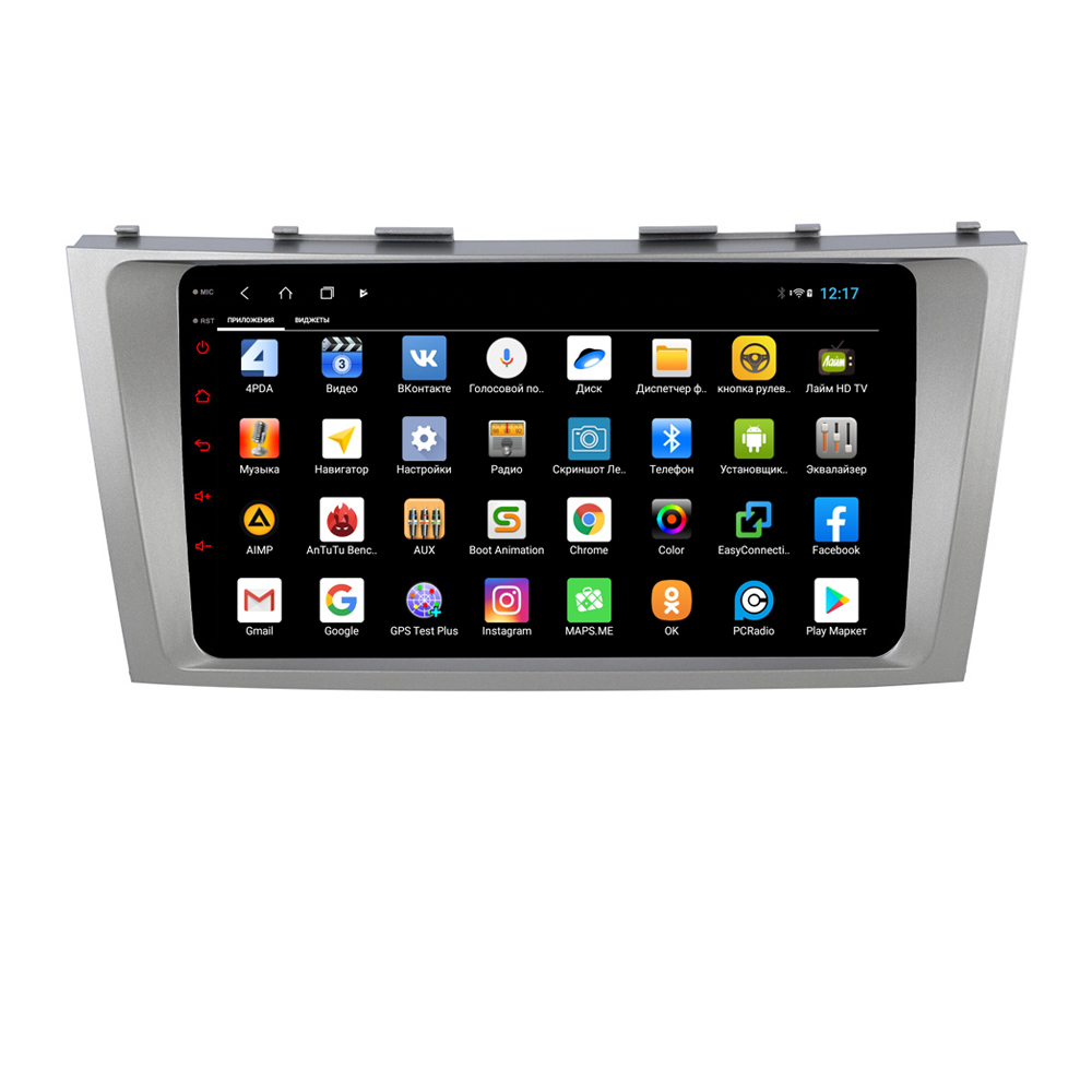 Фото - Штатная магнитола Parafar для Toyota Camry V40 2006-2011 Android 8.1.0 (PF064-1XHD) (+ Камера заднего вида в подарок!) штатная магнитола parafar для toyota lc100 1998 2003 android 8 1 0 pf450xhd камера заднего вида в подарок