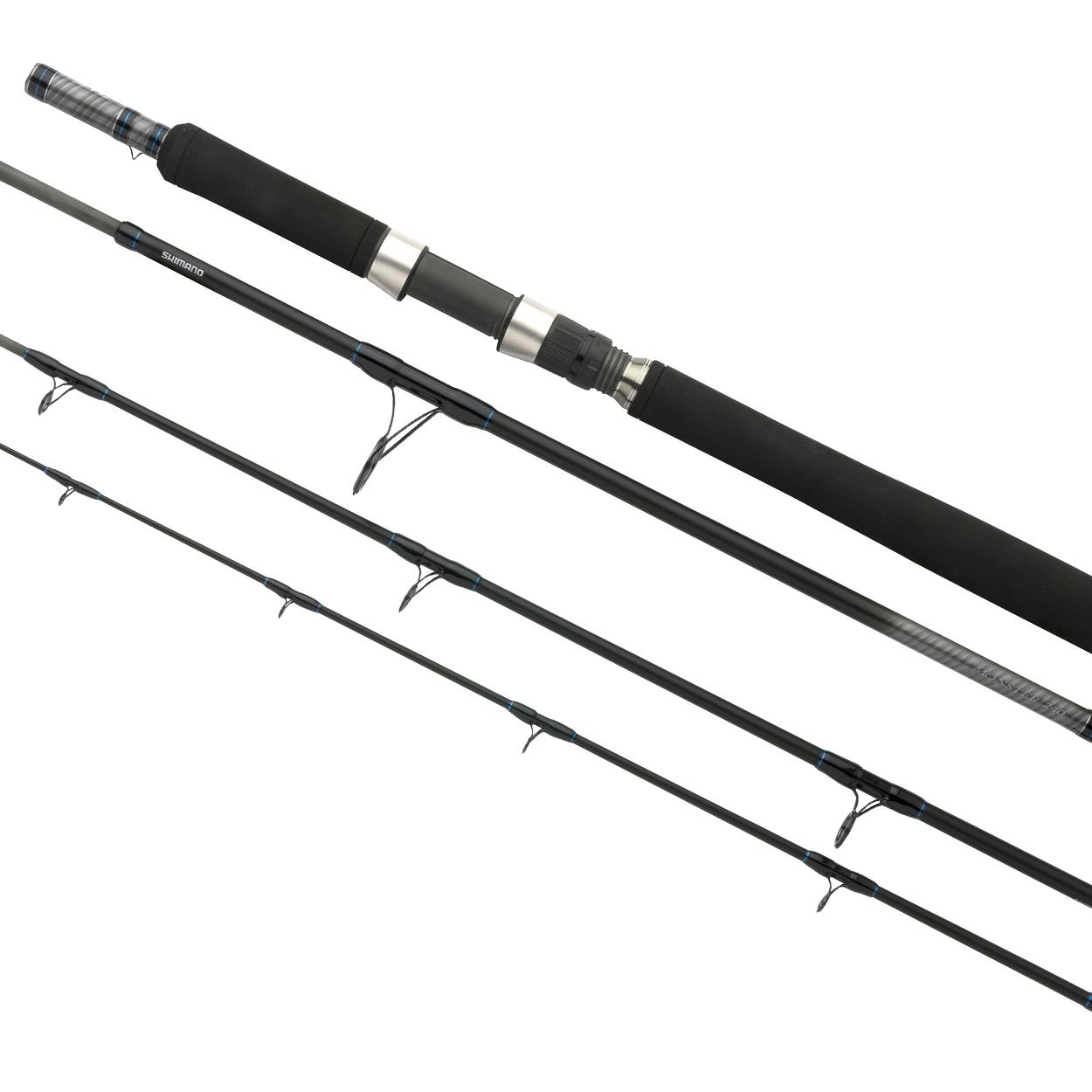 Удилище спиннинговое SHIMANO STC MONSTER 240 (+ Леска в подарок!) спиннинг shimano forcemaster bx spinning длина 240 см строй fast мощность light тест 3 14 гр вес 119 гр xt40 geofibre