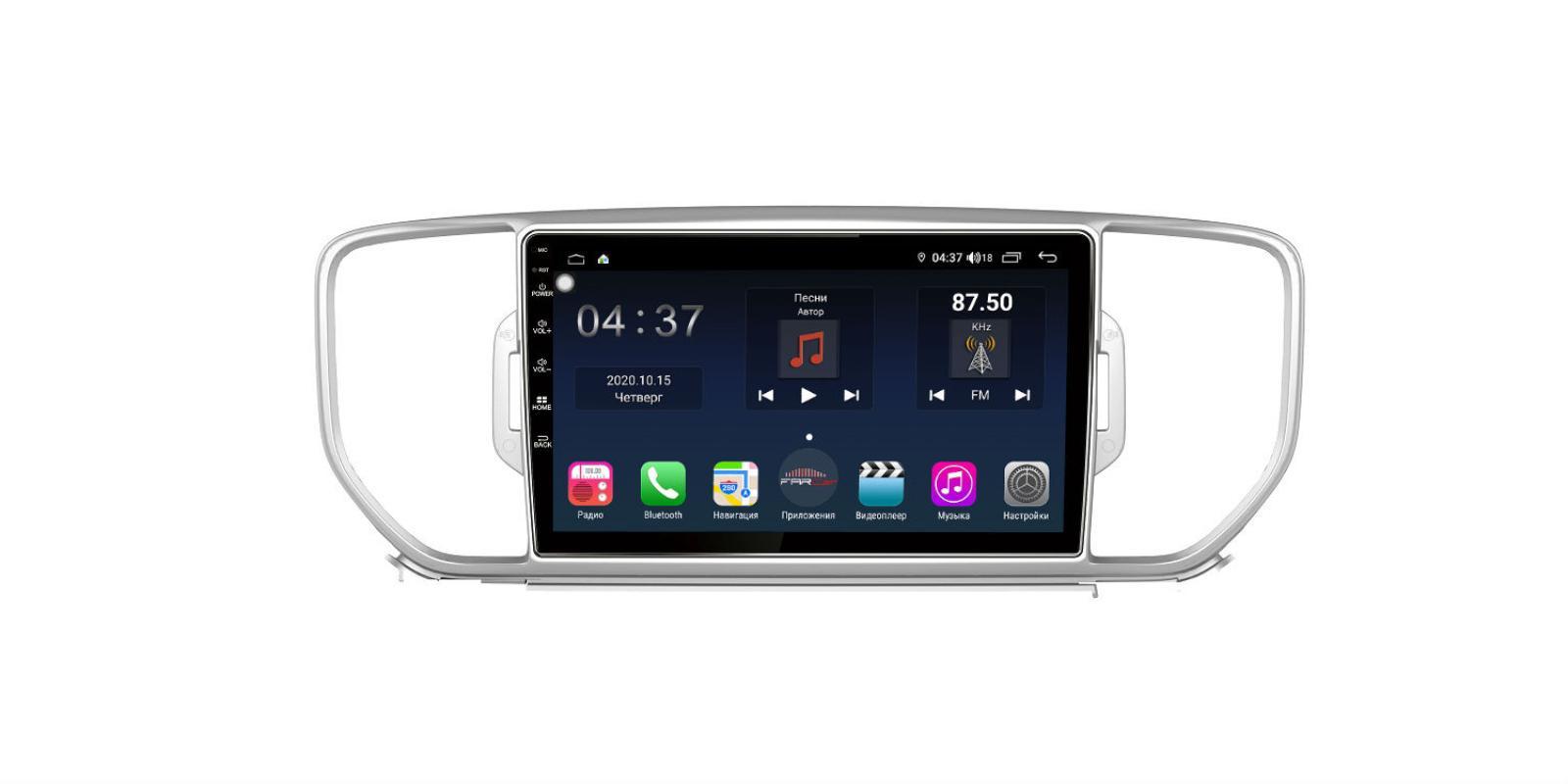 Штатная магнитола FarCar s400 для KIA Sportage на Android (TG576R) (+ Камера заднего вида в подарок!)