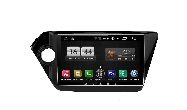 Штатная магнитола FarCar s195 для KIA Rio 2011+ на Android (LX106R) (+ Камера заднего вида в подарок!)