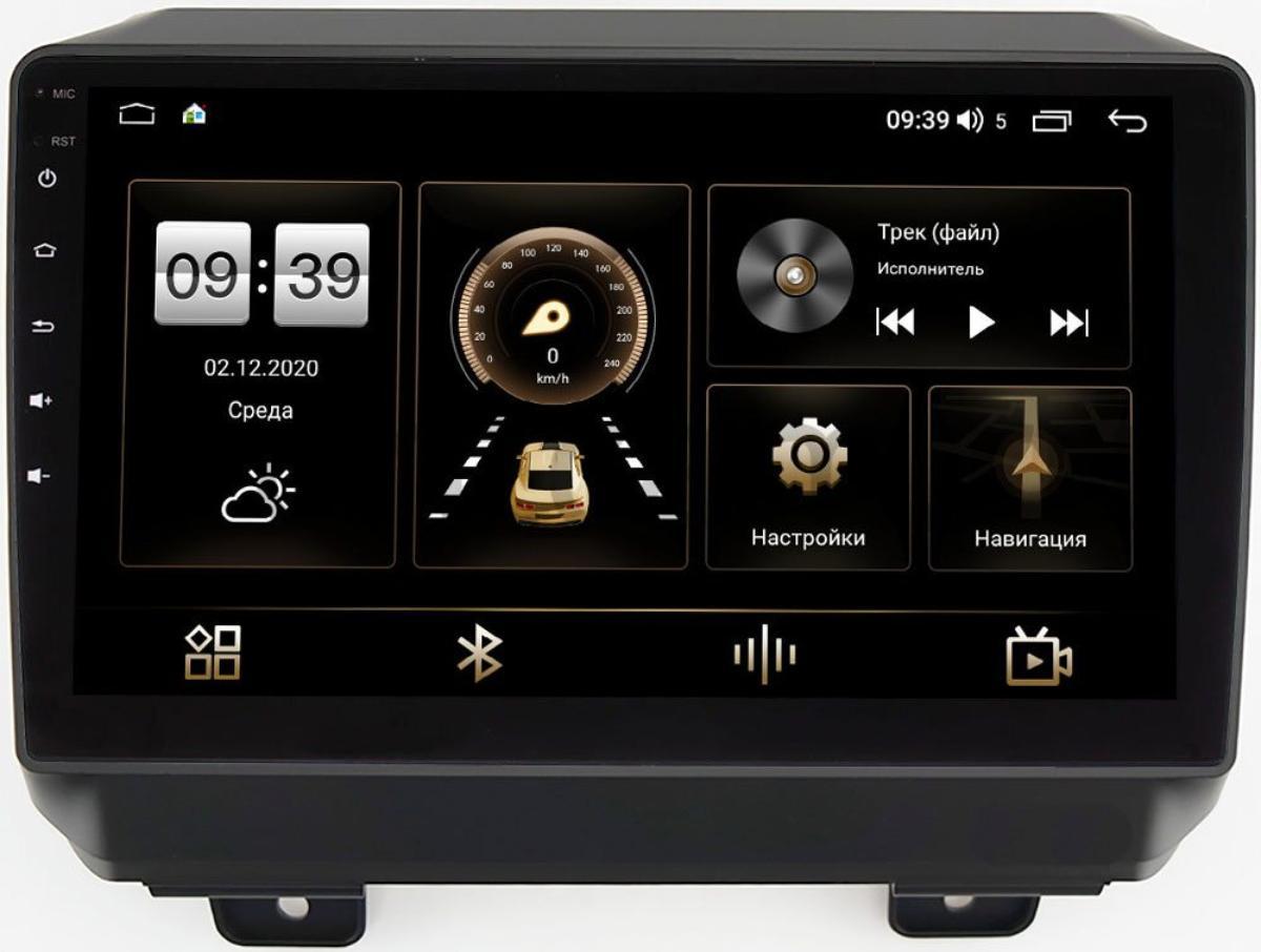 Штатная магнитола LeTrun 4166-9-327 для Jeep Wrangler IV (JL) 2017-2021 на Android 10 (4G-SIM, 3/32, DSP, QLed) (+ Камера заднего вида в подарок!)