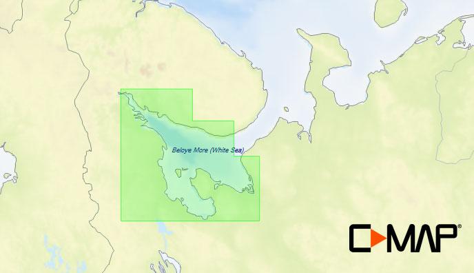 Карта C-MAP RS-N221 - Архангельск-Кандалакша