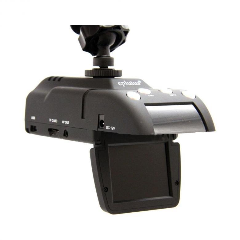 Видеорегистратор с антирадаром и GPS Eplutus GR-88 (+ Антисептик-спрей для рук в подарок!)