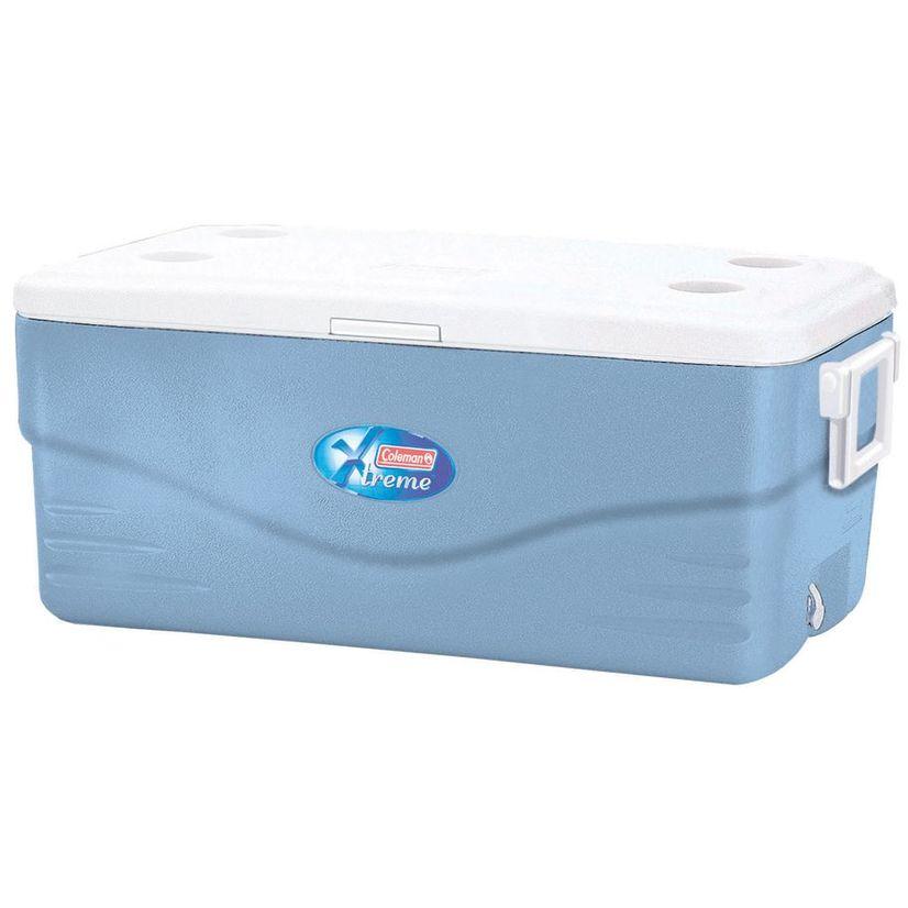 Контейнер изотермический 100 QUART XTREME (94.6 л) BLUE контейнер изотермический campingaz isotherm 17l цвет синий объём 17l время хранения продуктов с аккумулятором холода до 20 5ч размер 39х46х27