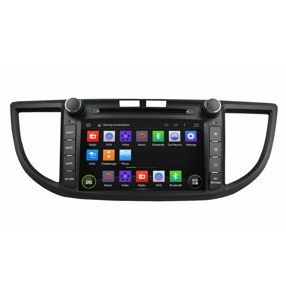 Штатная магнитола CARMEDIA KD-8097-P3-7 DVD Honda CRV IV 2012-2015 (RM) junsun 7 inch hd car gps navigation with fm bluetooth avin multi languages europe sat nav truck car gps navigator with free maps