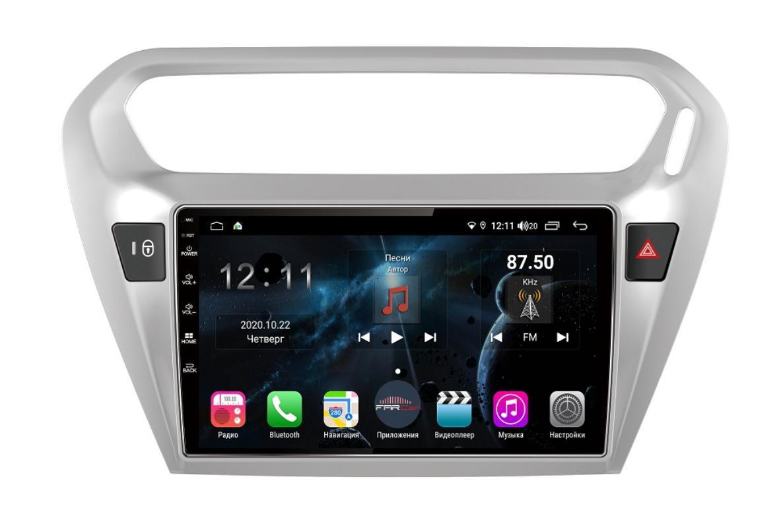 Штатная магнитола FarCar s400 для Peugeot 301, Citroen C-Elysee на Android (TG294R) (+ Камера заднего вида в подарок!)