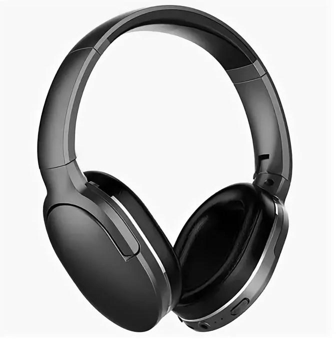 Беспроводные Bluetooth наушники BASEUS D02 ENCOK (ЧЕРНЫЙ)