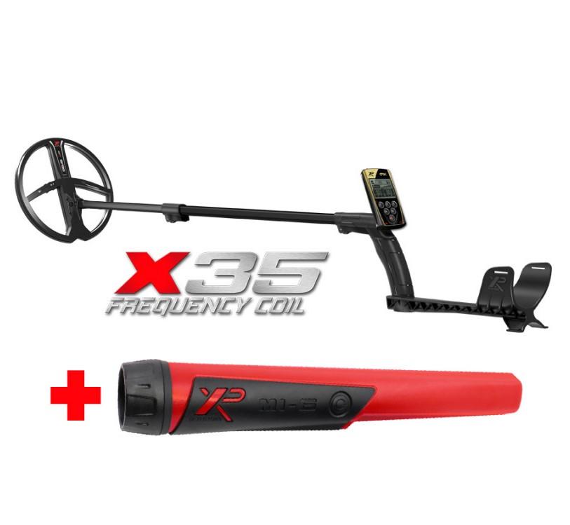 Металлоискатель XP ORX (катушка X35 22,5 см, блок, без наушников) + Пинпоинтер Mi6