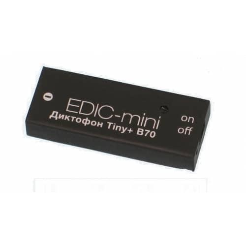 Диктофон Edic-mini TINY+ B70-75HQ (+ Антисептик-спрей для рук в подарок!) диктофон edic mini tiny s e84 150hq салфетки из микрофибры в подарок