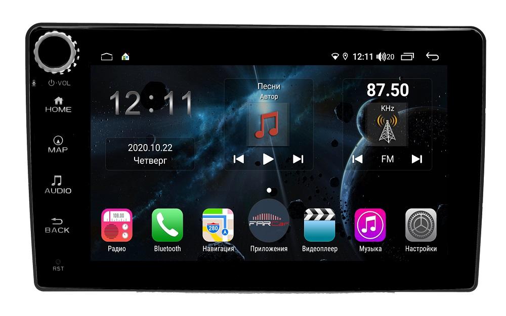 Штатная магнитола FarCar s400 для Lada Granta на Android (H1207RB) (+ Камера заднего вида в подарок!)