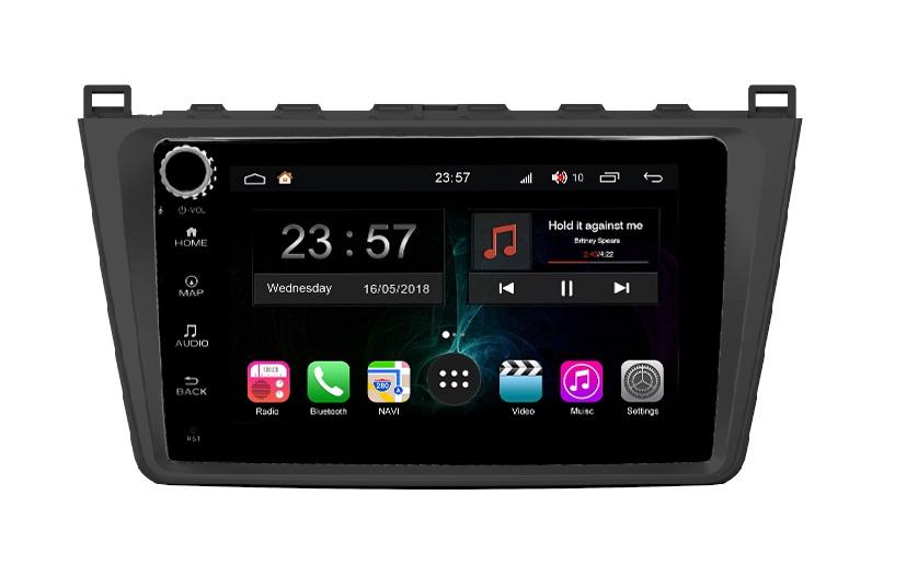 Штатная магнитола FarCar s300-SIM 4G для Mazda 6 на Android (RG012RB) (+ Камера заднего вида в подарок!)