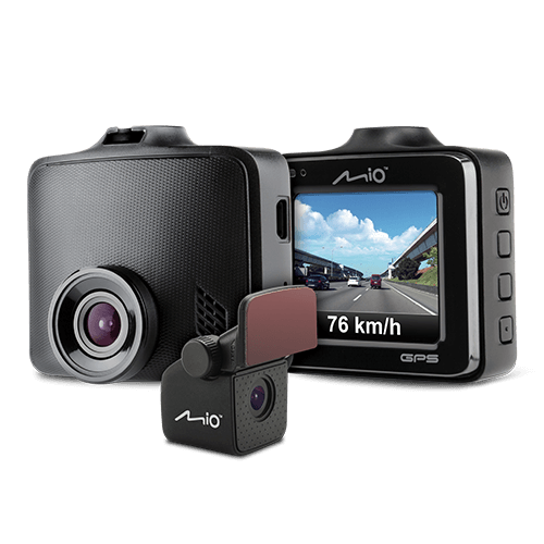 Фото - Видеорегистратор с GPS-сопровождением MiVue C380D (2-е камеры) (+ Разветвитель в подарок!) оптика
