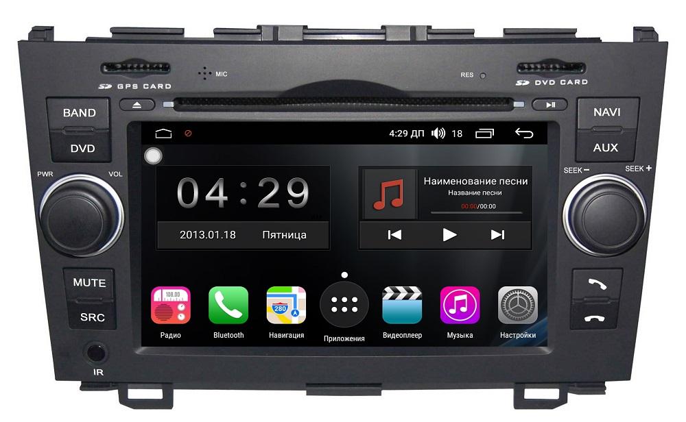 Штатная магнитола FarCar s300 для Honda CR-V на Android (RL009) (+ Камера заднего вида в подарок!) штатная магнитола honda cr v v 2017 2018 letrun 1942 на android 5 1 1 intel sofia