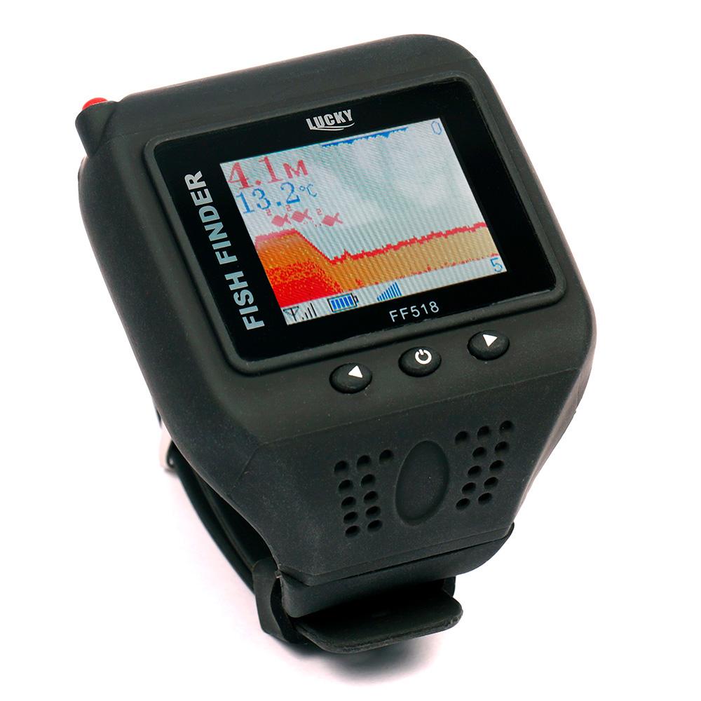 Фото - Эхолот часы Lucky Rambo FF518 (+ Леска в подарок!) товары для рыбалки