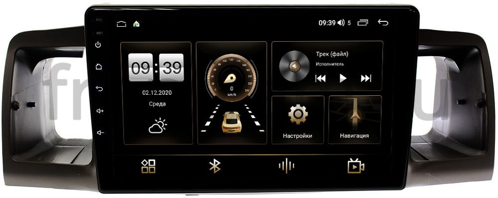 Штатная магнитола Toyota Corolla IX 2000-2007 LeTrun 4166-9074 на Android 10 (4G-SIM, 3/32, DSP, QLed) (+ Камера заднего вида в подарок!)