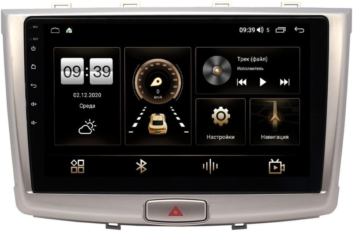 Штатная магнитола Haval H6 2014-2021 LeTrun 3799-1064 на Android 10 (4/64, DSP, QLed) (+ Камера заднего вида в подарок!)