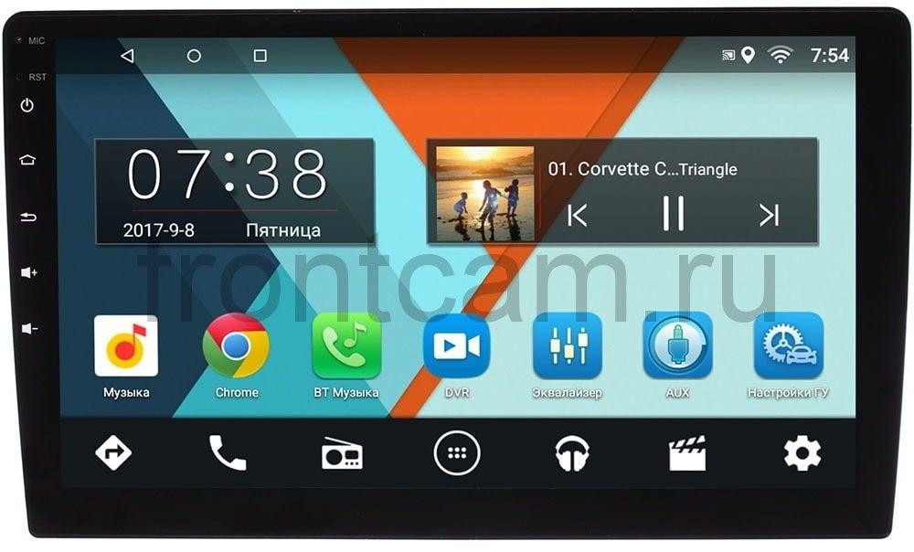 Штатная магнитола 2 DIN Wide Media MT-MFA (2/16) на Android 7.1.1 (10 дюймов) (+ Камера заднего вида в подарок!)
