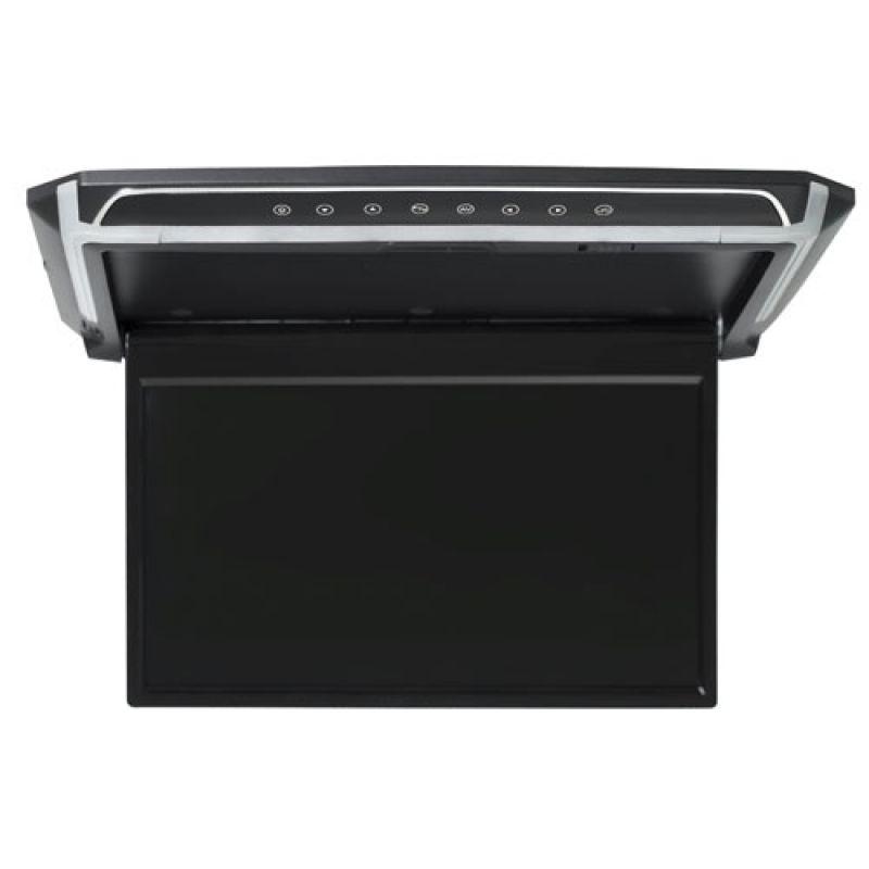Автомобильный потолочный монитор 14 со встроенным HD медиаплеером FarCar-Z012 (черный) (+ Салфетки из микрофибры в подарок) автомобильный потолочный монитор 17 3 avis avs117 черный салфетки из микрофибры в подарок