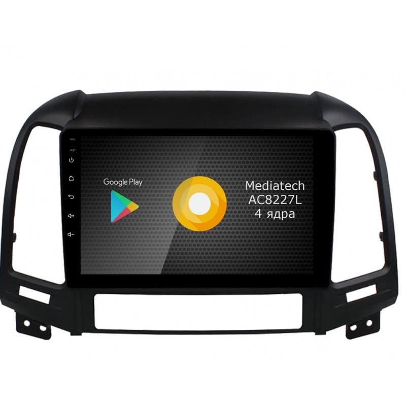 Штатная магнитола Roximo S10 RS-2008 для Hyundai SantaFe 2 (Android 8.1) (+ Камера заднего вида в подарок!)