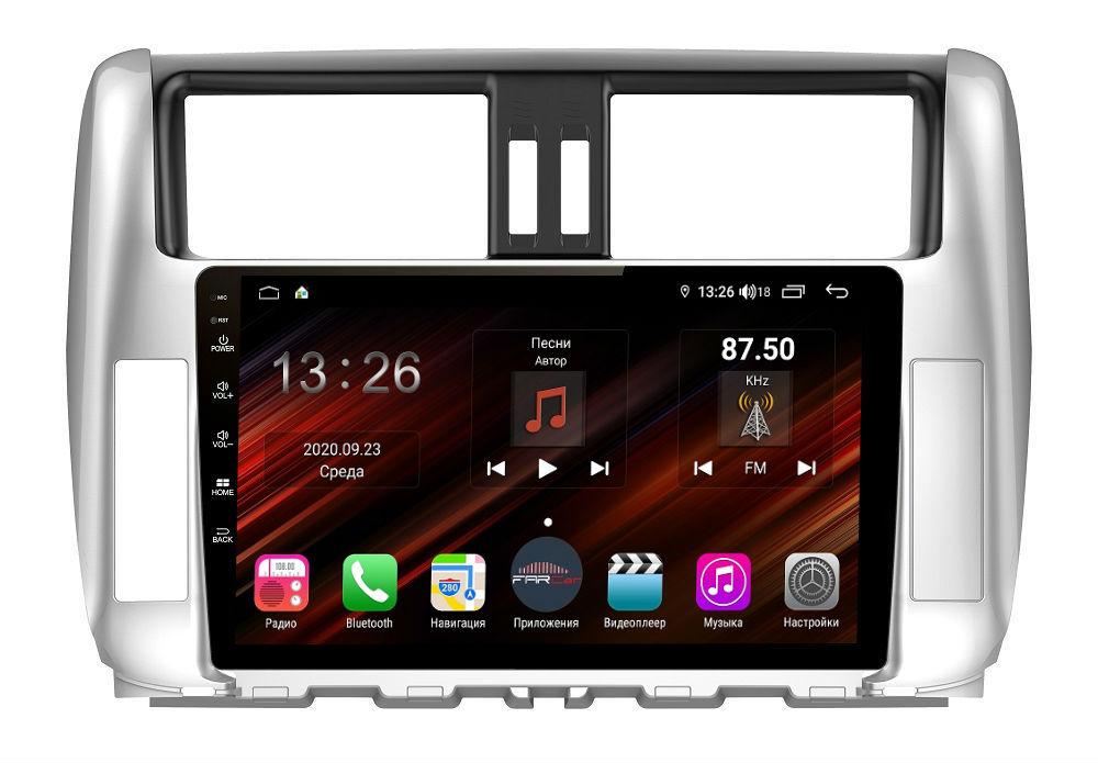Штатная магнитола FarCar s400 Super HD для Toyota Prado на Android (XH065R) (+ Камера заднего вида в подарок!)