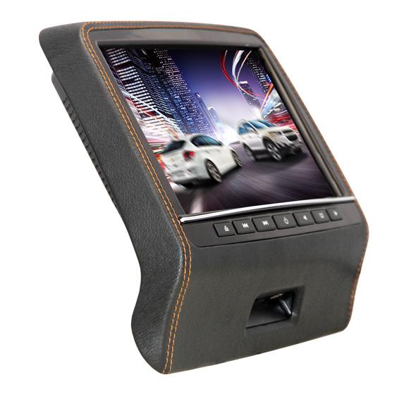 Навесной монитор FarCar-Z010 Black (USB, SD, DVD) (+ Двухканальные наушники в подарок!)