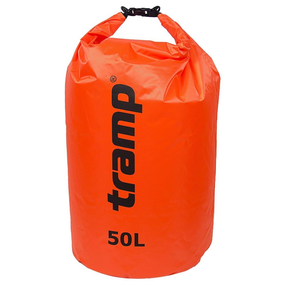 Tramp гермомешок ПВХ Diamond RipStop 50 л (оранжевый) гермомешок tramp diamond ripstop tra 110 5l orange