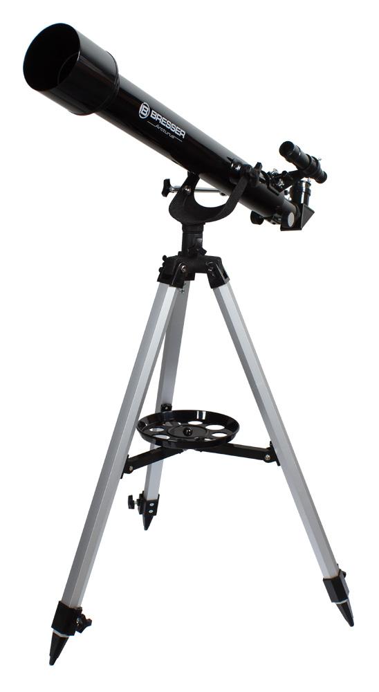 Фото - Телескоп Bresser Arcturus 60/700 AZ (+ Книга «Космос. Непустая пустота» в подарок!) телескоп bresser arcturus 60 700 az книга космос непустая пустота в подарок