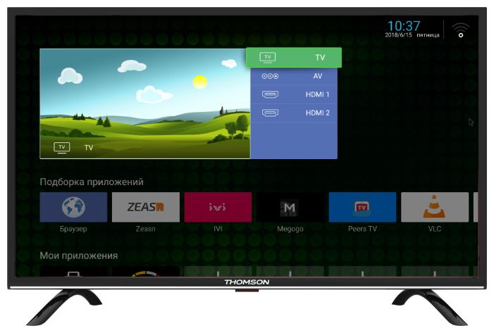 Телевизор Thomson T32RTL5130 телевизор thomson t40d16sf 01w белый