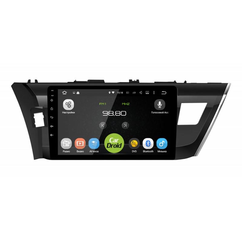 Фото - Штатная магнитола Roximo CarDroid RD-1103F для Toyota Corolla e160 (Android 8.0) (+ Камера заднего вида в подарок!) nanopi neo2 fully chronicles h5 development board 64 bit four core a53 gigabit ethernet