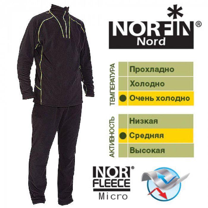 Термобелье Norfin NORD 02 р.M костюм norfin nord air
