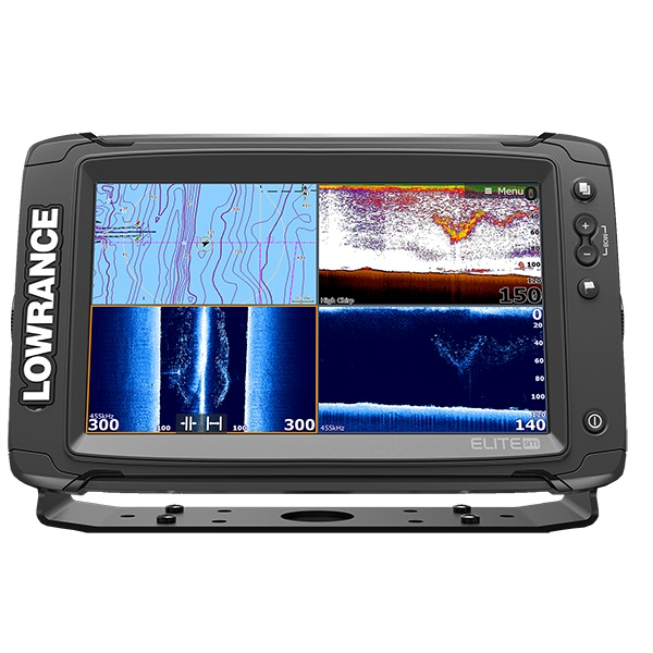 Lowrance Elite-9Ti Mid/High/TotalScan (+ Аккумулятор + З/У + Струбцина)