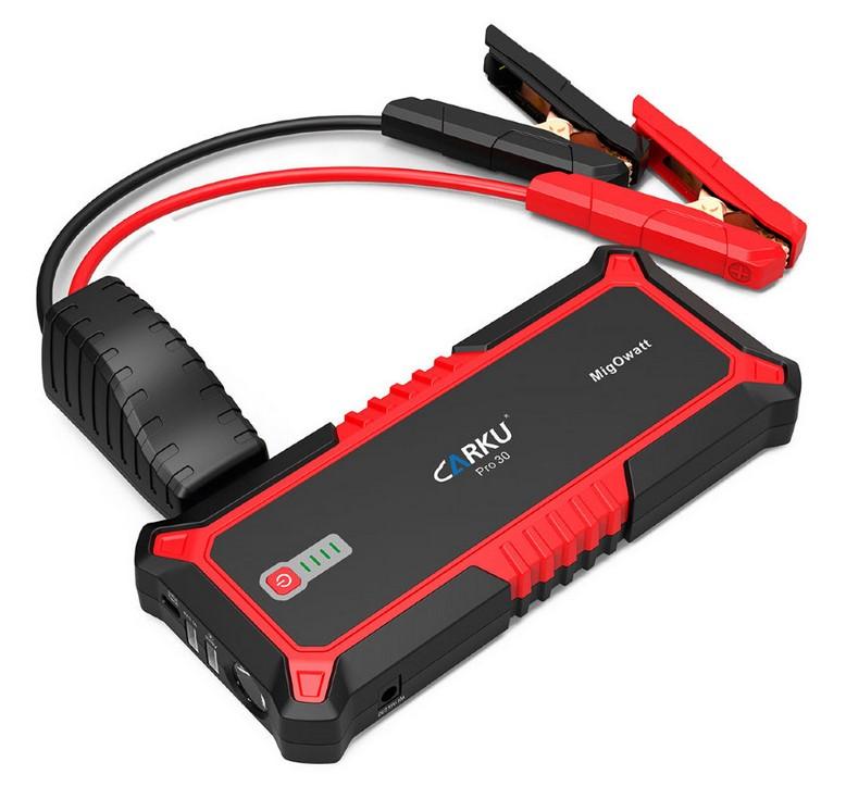 Пуско-зарядное устройство CARKU PRO-30 (+ Салфетки из микрофибры для любых задач в подарок!)