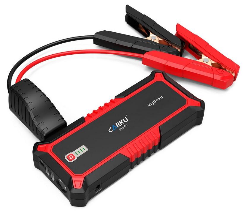 Пуско-зарядное устройство CARKU PRO-60 (+ Power Bank в подарок!) цена 2017