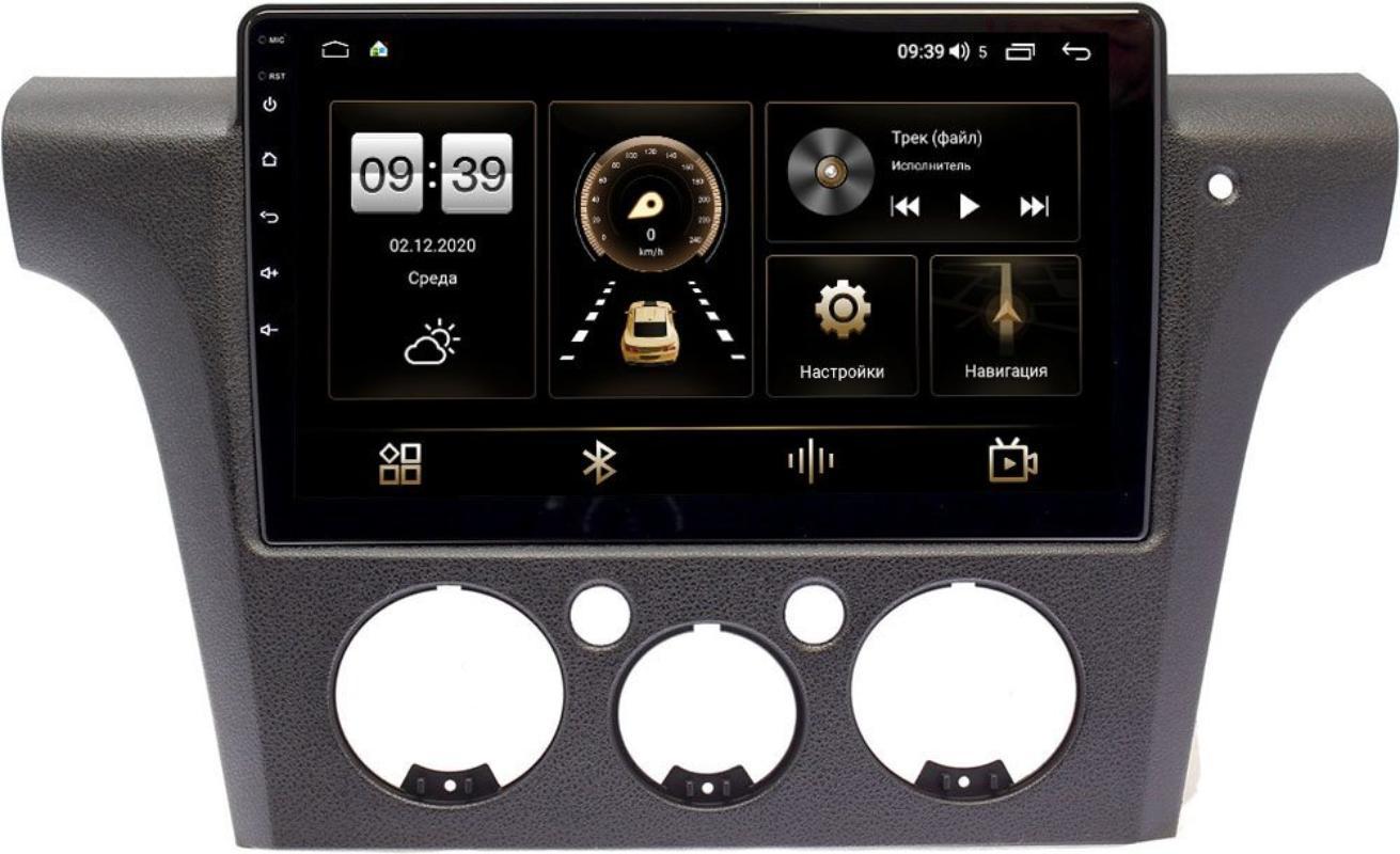 Штатная магнитола LeTrun 4165-10-1132 для Mitsubishi Outlander I 2002-2008 (правый руль) на Android 10 (4G-SIM, 3/32, DSP, QLed) (+ Камера заднего вида в подарок!)